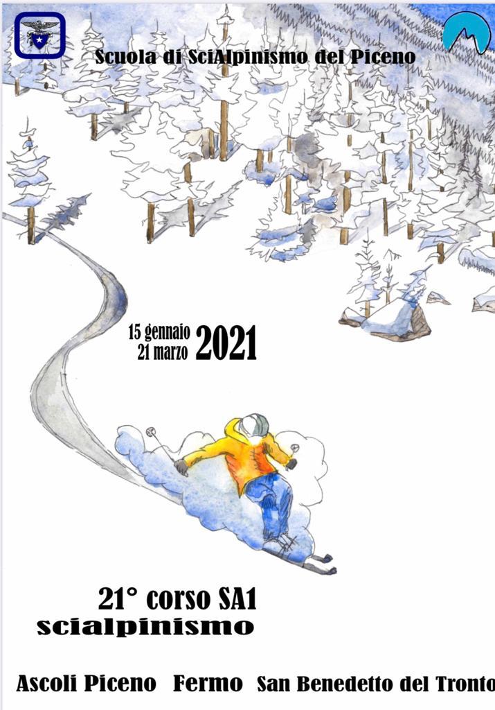 21 corso scialpinismo