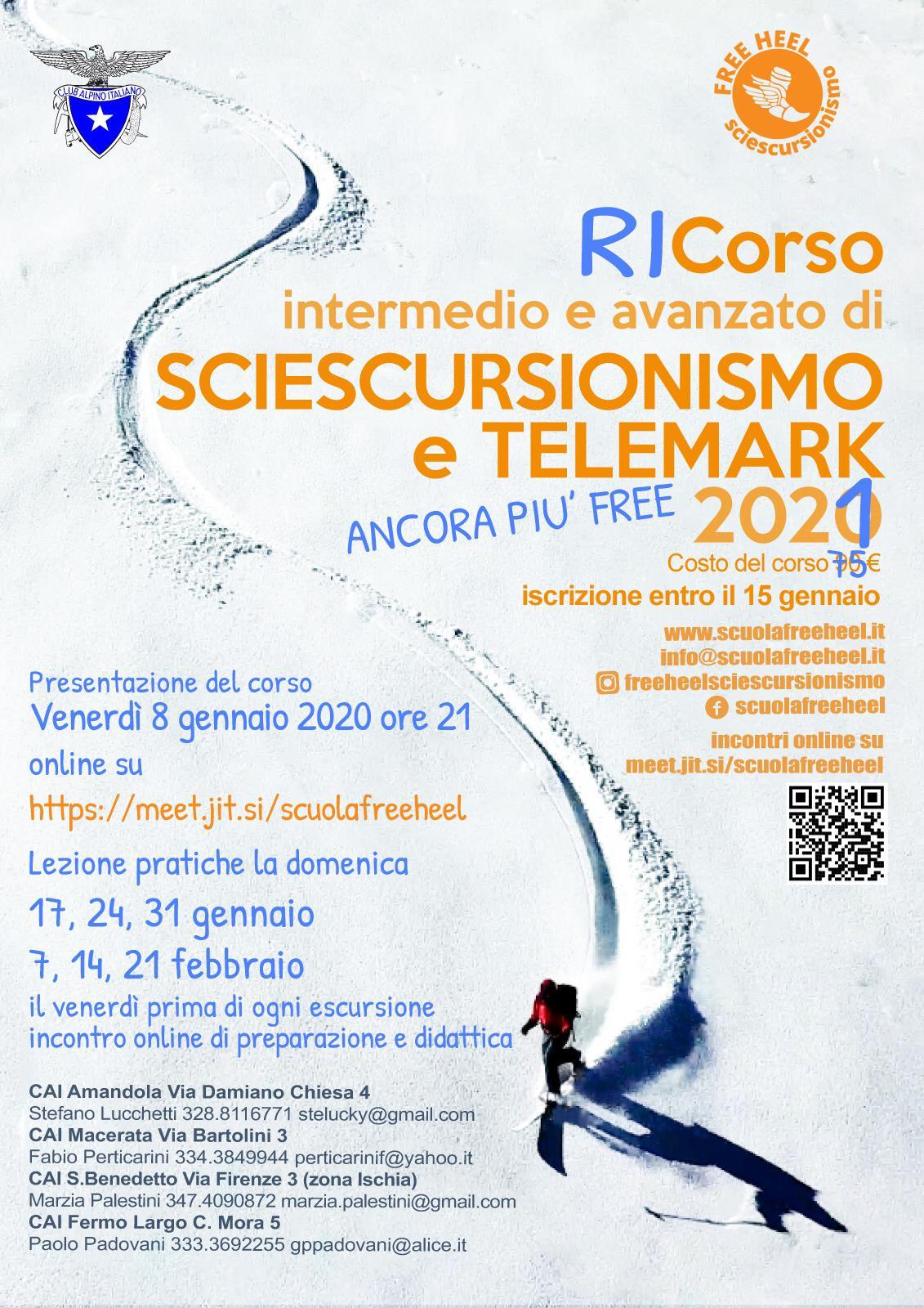 Corso Sciescursionismo e Telemark